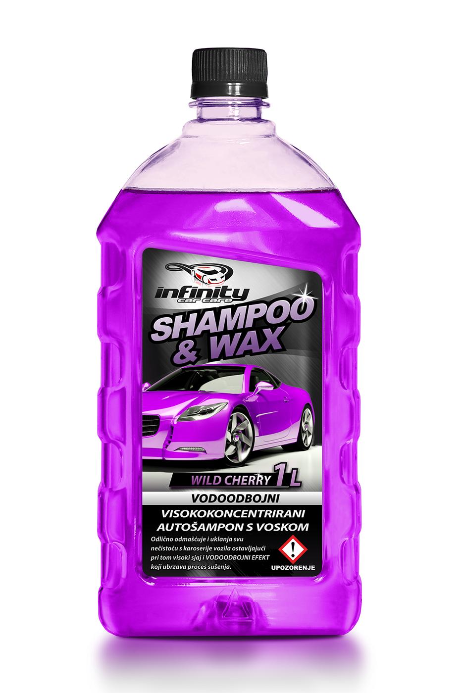 Shampoo & wax 1L